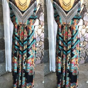 Here Comes the Summer Maxi Cotton Dresses XL